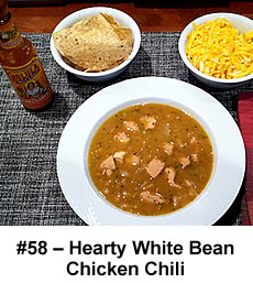 Hearty White Bean Chicken Chili